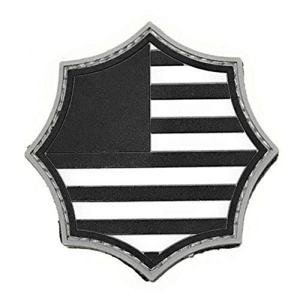 Umbrella Corporation Airsoft Morale Patch 4 Umbrella Corporation PVC Morale Patch - 3 Designs with Hook & Loop Backer