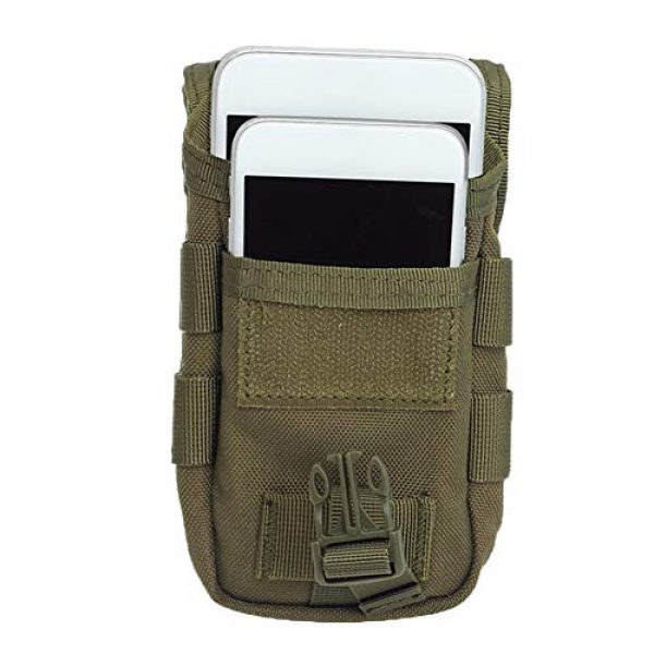 AegisTac Tactical Pouch 5 AegisTac Tactical Molle Phone Pouch EDC Utility Gadget Waist Bag Pack Cell Phone Case Smartphone Holster Bag