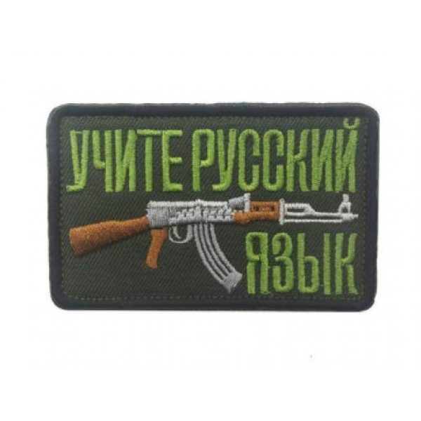 Embroidered Patch Airsoft Morale Patch 3 3pc Soviet Russian AK 47 Kalashnikov Shell Rifle Gun Assault Army Battle 3D Tactical Patch Military Embroidered Morale Tags Badge Embroidered Patch DIY Applique Shoulder Patch Embroidery Gift Patch