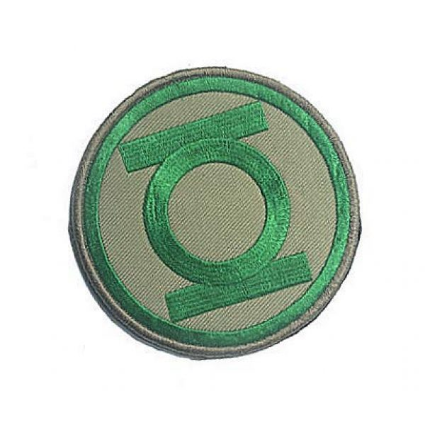 Embroidery Patch Airsoft Morale Patch 2 DC Comics Green Lantern Military Hook Loop Tactics Morale Embroidered Patch