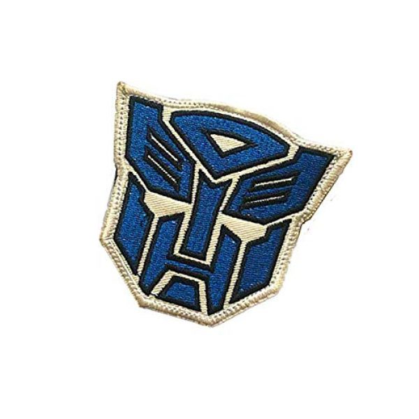 Embroidery Patch Airsoft Morale Patch 3 Superhero Transformers Autobot Military Hook Loop Tactics Morale Embroidered Patch