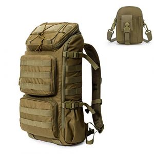 Mardingtop Tactical Backpack 1 Mardingtop Bundle Items: 28L Molle Hiking Tactical Backpack Khaki