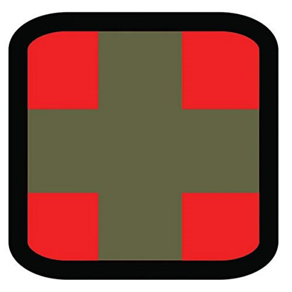 Fox Outdoor Airsoft Morale Patch 1 Fox Outdoor Products Square Medical & Morale Patches