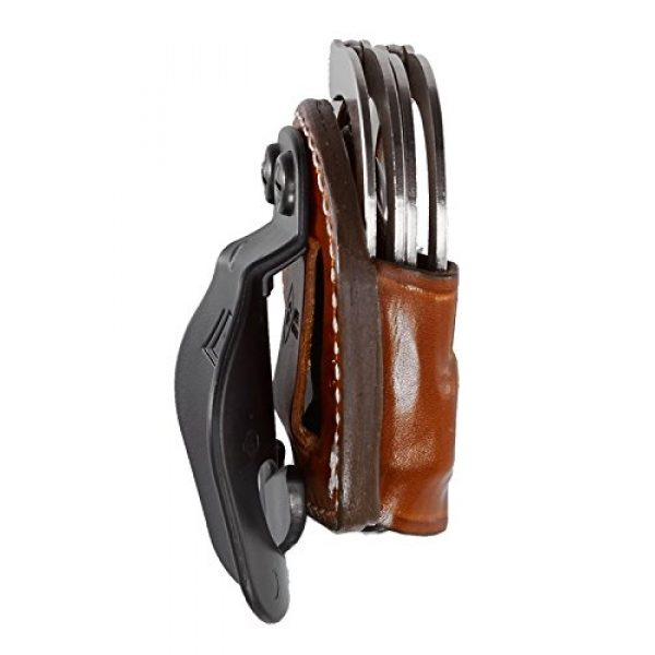 Aker Leather Tactical Pouch 2 Aker Leather Products A607-BP D.M.S. Dual Mounting Series Cuff Case