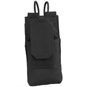 Condor Tactical Pouch 1 CONDOR 191223-002 Molle Tactical Patrol Radio Pouch Black