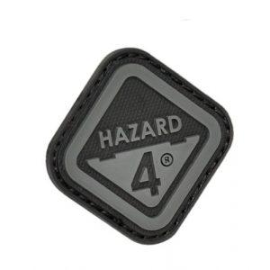 HAZARD 4 Airsoft Morale Patch 1 3D Logo Rubber Patch by Hazard(R)