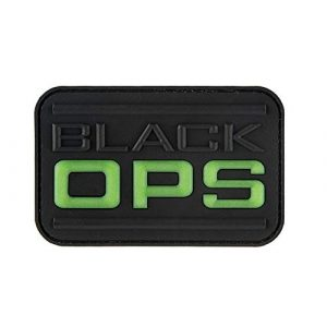 G-Force Airsoft Morale Patch 1 G-Force Black OPS-Glow PVC Morale Patch