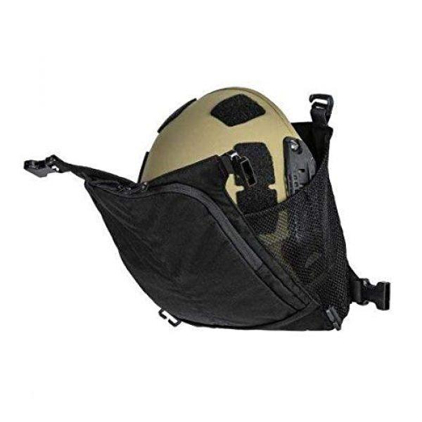 5.11 Tactical Pouch 5 5.11 Tactical Style # 56491 Helmet Pouch & Shove-It Gear Set, Black