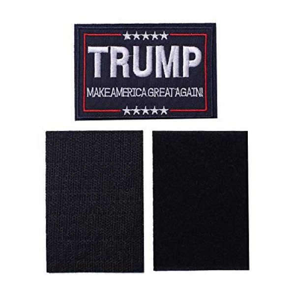 Harsgs Airsoft Morale Patch 4 Harsgs Trump Tactical Morale Patch Make American Great Again Hook and Loop Patch