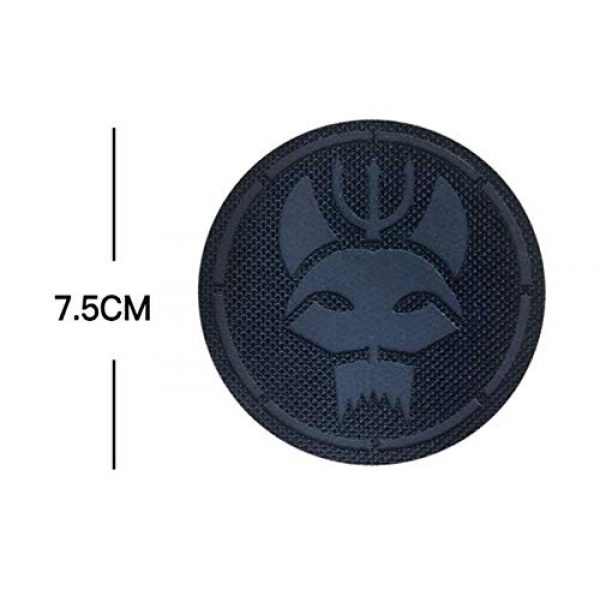 Embroidery Patch Airsoft Morale Patch 2 Seal Team Trident Cat Head Team Group Reflective IR Patch Military Tactical Clothing Accessory Backpack Armband Sticker Gift Patch Decorative Patch Embroidered Patch