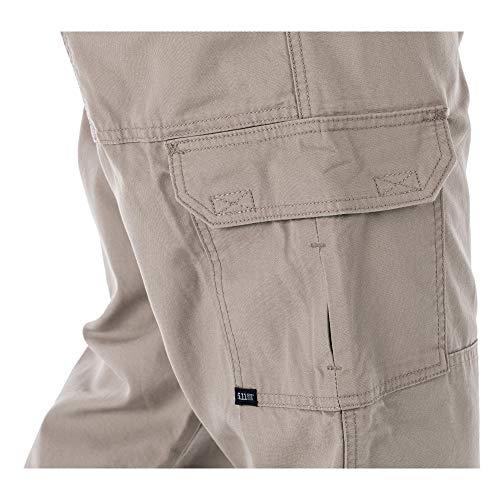 5.11 Tactical Pant 5 5.11 Tactical Men's Active Work Pants, Superior Fit, Double Reinforced, 100% Cotton, Style 74251