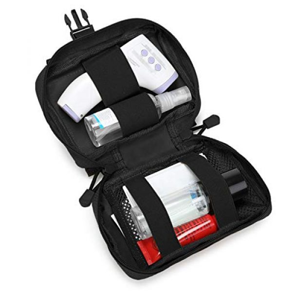 BAIGIO Tactical Pouch 4 Small Tactical Pouch MOLLE System First Aid Kit Bag IFAK Medical Utility Bag Pocket for Home Workplace Outdoor
