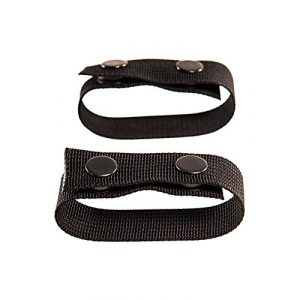 High Speed Gear Tactical Pouch 1 High Speed Gear / HSG - HSGI: Duty Belt Keepers - 2 Pack - Black - Two (2) Nylon snap Closure Keepers