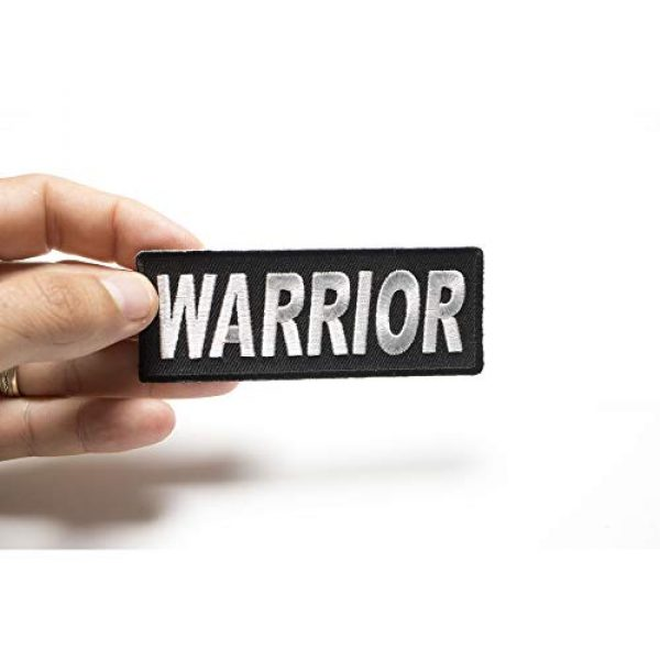 Ivamis Trading Airsoft Morale Patch 3 Warrior Patch - 4x1.5 inch. Embroidered Iron on Patch