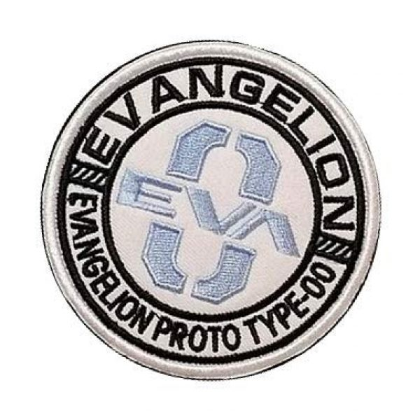 Embroidery Patch Airsoft Morale Patch 3 Mobile Suit Gundam Evangelion Eva Model 0 Military Hook Loop Tactics Morale Embroidered Patch