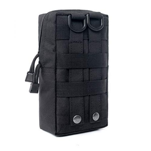 ASCOCO Tactical Pouch 2 ASCOCO Packs Tactical EDC Molle Pouch Tactical Waist Compact Organizer Gadget Gear Outdoor Pouch