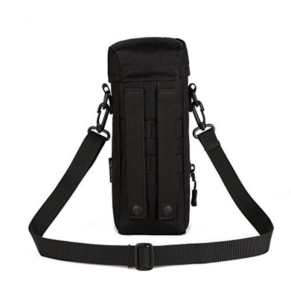 ArcEnCiel Tactical Pouch 2 ArcEnCiel Molle Water Bottle Pouch Tactical Military Kettle Set Holder Hydration Bag Carrier Pocket for Camping Climbing Cycling Hiking Travelling