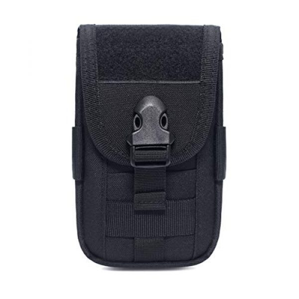 Azarxis Tactical Pouch 1 Azarxis Tactical Cell Phone Holster Pouch, Tactical Smartphone Pouches EDC Cellphone Case Molle Gadget Bag Molle Attachment Belt Card Holder Waist Bag