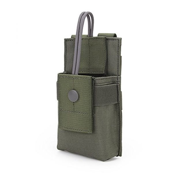 ATAIRSOFT Tactical Pouch 1 ATAIRSOFT Tactical MOLLE Radio Pouch Holder Bag Airsoft Walkie Talkies Holster for BaoFeng UV-5R/UV-82