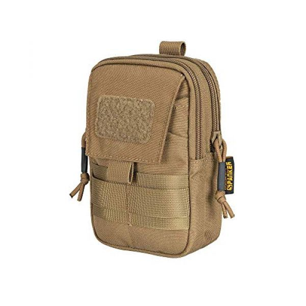 EXCELLENT ELITE SPANKER Tactical Pouch 2 Tactical Molle EDC Pouch Utility Molle Pouch Coyote Brown