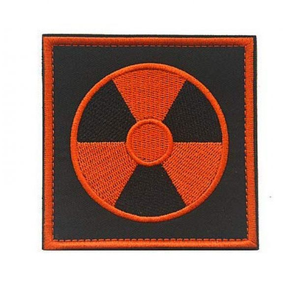 Embroidery Patch Airsoft Morale Patch 1 Stalker S.T.A.L.K.E.R. Factions Loners Atomic Power Chernobyl Military Hook Loop Tactics Morale Embroidered Patch