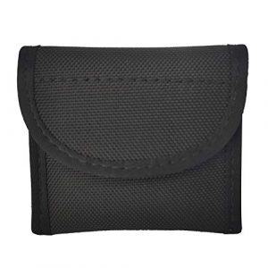 """P&Q Tactical Pouch 1 Nylon Glove Pouch Police Firefighter EMS EMT Paramedic Medical Disposable Gloves Holder for 2 and 2.25"""" Duty Belt"""