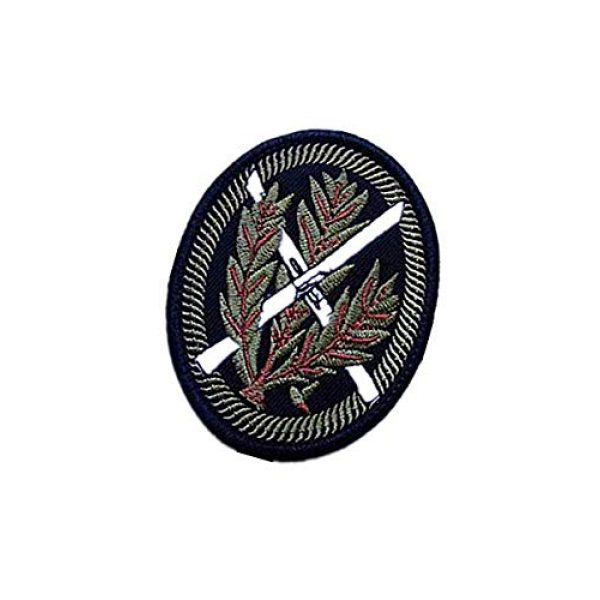 Embroidery Patch Airsoft Morale Patch 3 WWII German WH SNOWFIELD Rifleman Sniper Military Hook Loop Tactics Morale Embroidered Patch