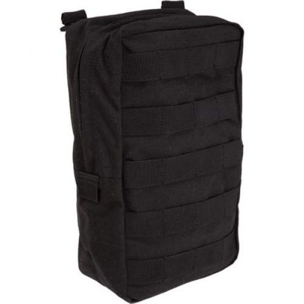 """5.11 Tactical Pouch 2 5.11 Tactical 6"""" x 10"""" All Weather Nylon Vertical Molle Pouch, YKK Zipper Hardware, Style 58717"""