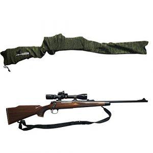 FIELDCRAFT Silicone Gun Sock 1 FIELDCRAFT Silicone Gun Socks Rifle/Shotgun (52 in x 4.5 in) and Pistol/Handgun (14 in x 4.5 in) Extra Wide for Scope Optics Breathable Moisture Wicking