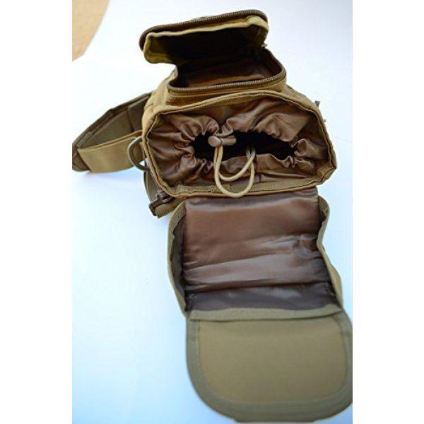 Acid Tactical Tactical Pouch 6 Acid Tactical MOLLE First Aid Bag Pouch Trauma TAN/Sand EMT Medic Utility