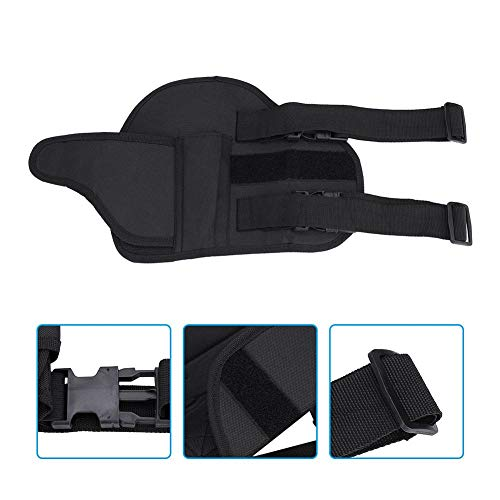 Alomejor Airsoft Holster 4 Leg Bag Kids Tactical Leg Holster Kit with Dart Pouch Toy Holster Holder for Outdoor Hiking Cycling