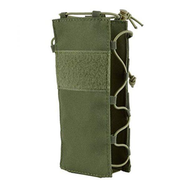 BESPORTBLE Tactical Pouch 1 BESPORTBLE Army Green Portable Outdoor Waist Pouch Sport Travel Elastic Water Bottle Bag Holder Kettle Carrier