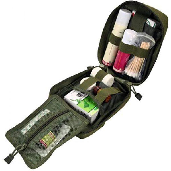 ACOMOO Tactical Pouch 6 ACOMOO Outdoor Tactics MOLLE Rip-Away Medical Emergency Rescue Bag Outdoor Medical Bag Climbing Climbing