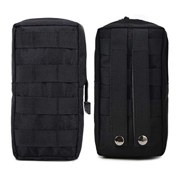 AOCKS Tactical Pouch 7 AOCKS Tactical Molle Pouch Tactical Compact Water-Resistant EDC Pouch for Tactical Backpack Assault Rig Vest