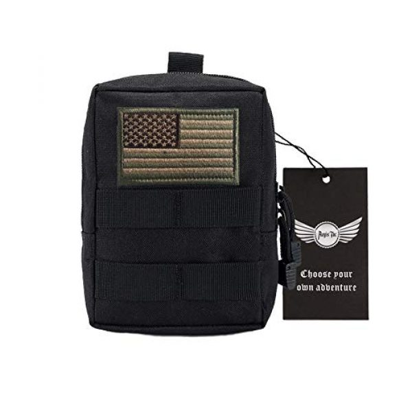 AegisTac Tactical Pouch 1 AegisTac Tactical Molle EDC Pouch Utility Gadget Belt Hiking Waist Pack Tool Organizer Bag