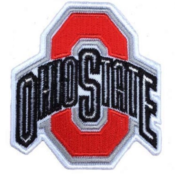 Tactical Embroidery Patch Airsoft Morale Patch 1 Ohio State Flag Embroidery Patch Military Tactical Morale Patch Badges Emblem Applique Hook Patches for Clothes Backpack Accessories