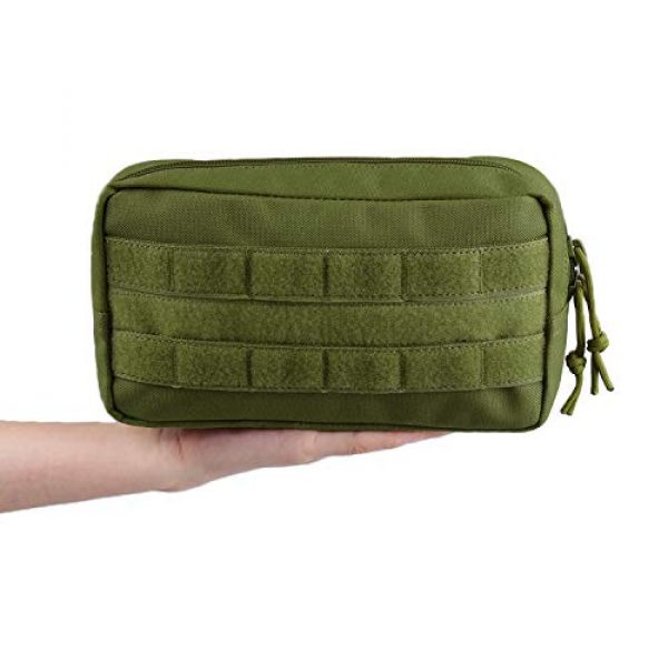 AMYIPO Tactical Pouch 6 AMYIPO MOLLE Pouch Multi-Purpose Compact Tactical Waist Bags Utility Pouch