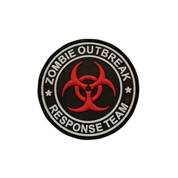 5ive Star Gear Airsoft Morale Patch 1 5ive Star Gear Zombie Outbreak Morale Patches, Multi-Color, One Size