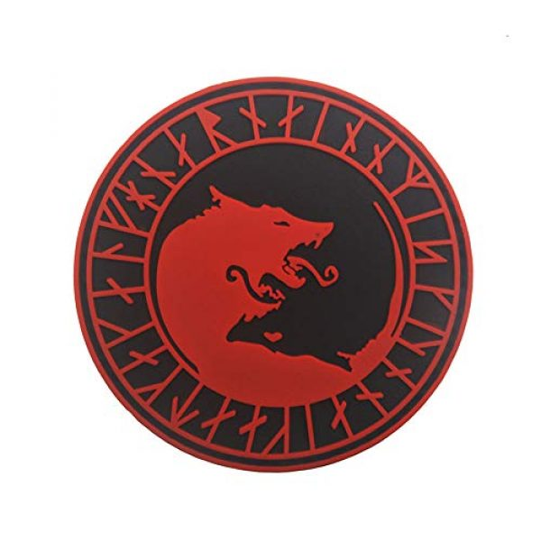 Belloc Stickers Airsoft Morale Patch 1 Belloc Tactical Patch - Wolf Patch Flag Magic Stickers Badge Decoration Tactical Morale Patch