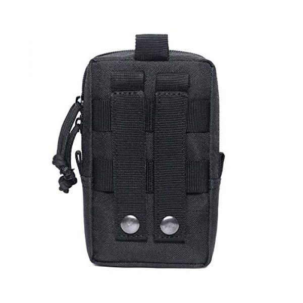 BIANTI Tactical Pouch 2 BIANTI Tactical EDC Pouch,Molle Utility Pouches Gadget Organizer Phone Holder Waist Pack IFAK Bag Smartphone Pouch Tool Holster Pocket