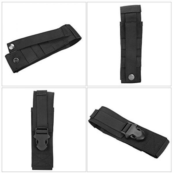 Yencoly Tactical Pouch 2 Yencoly Military Belt Pouch, Tactic Pouch, Tear Resistant Lightweight for Outdoor