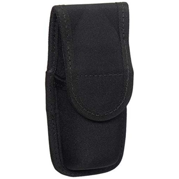 BIANCHI Tactical Pouch 1 BIANCHI, 8007 PatrolTek OC/Mace Spray Pouch, Black, Size Small