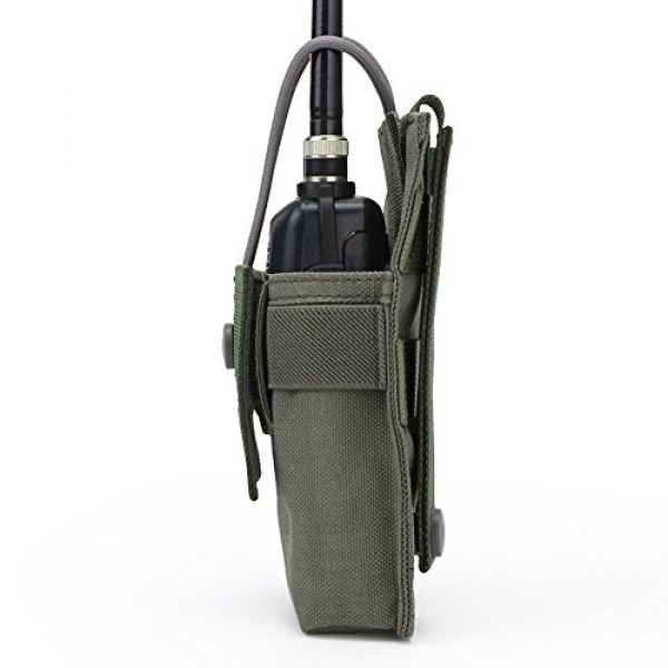ATAIRSOFT Tactical Pouch 2 ATAIRSOFT Tactical MOLLE Radio Pouch Holder Bag Airsoft Walkie Talkies Holster for BaoFeng UV-5R/UV-82