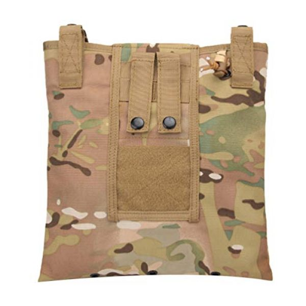 BESPORTBLE Tactical Pouch 1 BESPORTBLE Molle Utility Pouch Recycling Bag Vest Accessory Sundries Storage Field Equipment Holder for Cs Game Paintball Hunting (ACU Style)