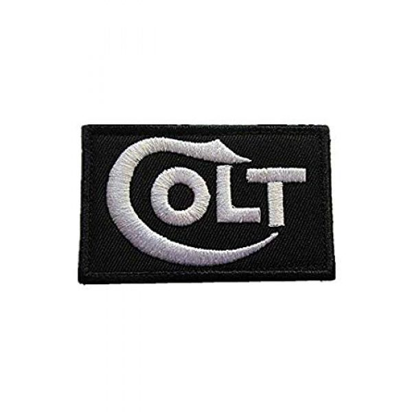 Embroidery Patch Airsoft Morale Patch 1 Colt Firearms 1980 Gun Military Hook Loop Tactics Morale Embroidered Patch