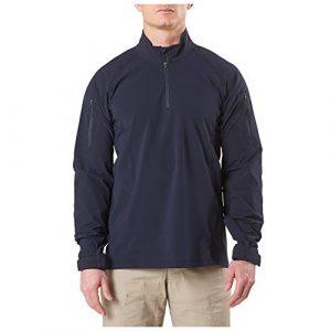 5.11 Tactical Shirt 1 5.11 Tactical Men's Rapid Ops Long Sleeve Quarter Zip Shirt, Military/Law Enforcement, Style 72199