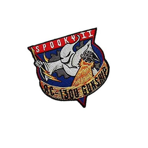 Embroidery Patch Airsoft Morale Patch 2 Air Force Special Ops Spooky II AC-130U Gunship Spectre Military Hook Loop Tactics Morale Embroidered Patch