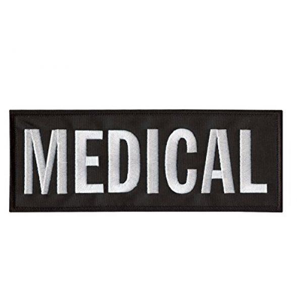 LEGEEON Airsoft Morale Patch 1 LEGEEON Medical Large XL 10x4 inch EMT EMS Medic Paramedic Tactical Bulletproof Vest Hook&Loop Patch