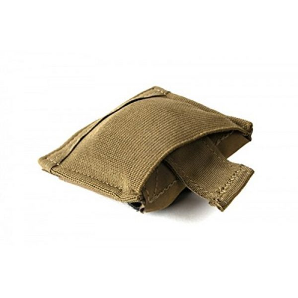 Blue Force Gear Tactical Pouch 1 Blue Force Gear Belt Mounted Ten-Speed Dump Pouch, Small, with Adjustable Belt Loop in Coyote Brown (BT-DP-S-CB)