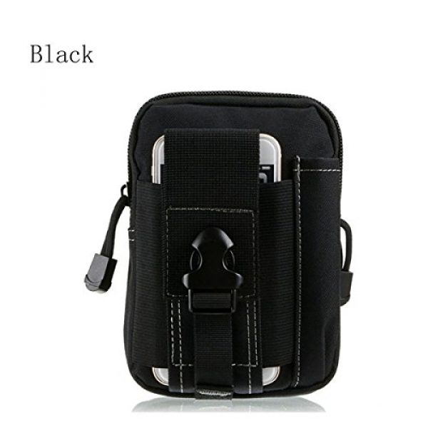 AOCK Tactical Pouch 4 AOCK Multi-Purpose Poly Tool Holder EDC Pouch Camo Bag Military 1000D Nylon Utility Tactical Waist Pack Camping Hiking Pouch